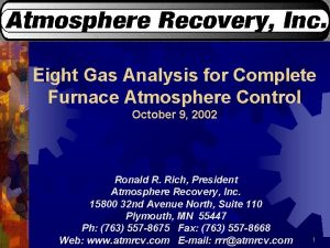 Eight Gas Analysis for Complete Furnace Atmosphere Control