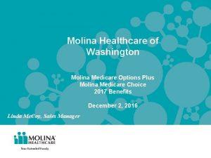 Molina Healthcare of Washington Molina Medicare Options Plus