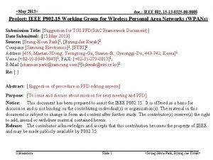 May 2013 doc IEEE 802 15 13 0325