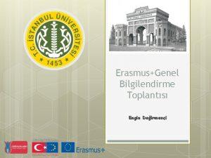 ErasmusGenel Bilgilendirme Toplants Engin Deirmenci Kimdir Erasmus Desiderius