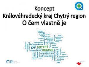 Koncept Krlovhradeck kraj Chytr region O em vlastn