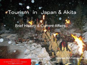 Brief History Current Affairs Namahage Sedo Festival Feb