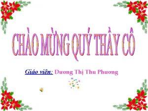 Gio vin Dng Th Thu Phng 1 2