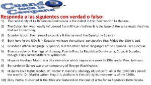 Responda a las siguientes con verdad o falso