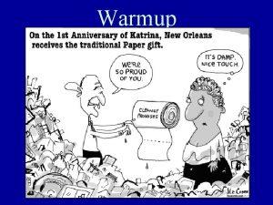 Warmup Review Ch 3 Sec 3 Informal Amendment