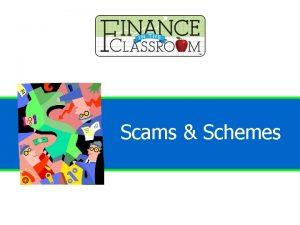 Financial Scams Schemes Financial Scams Schemes Scam Fraudulent