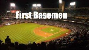 First Basemen When my sons best friend is