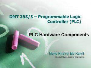 DMT 3533 Programmable Logic Controller PLC PLC Hardware