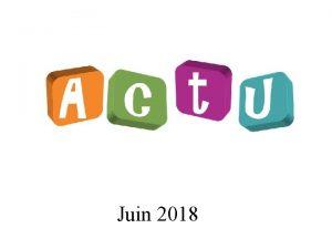 Juin 2018 Rglement collectif de dettes I Modifications