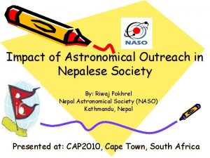 Impact of Astronomical Outreach in Nepalese Society By