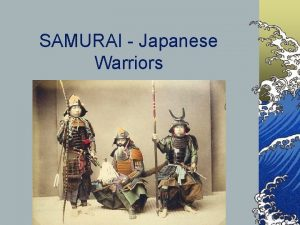 SAMURAI Japanese Warriors BUSHIDO https www youtube comwatch