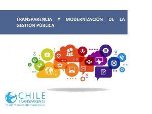 TRANSPARENCIA Y GESTIN PBLICA MODERNIZACIN DE LA Introduccin