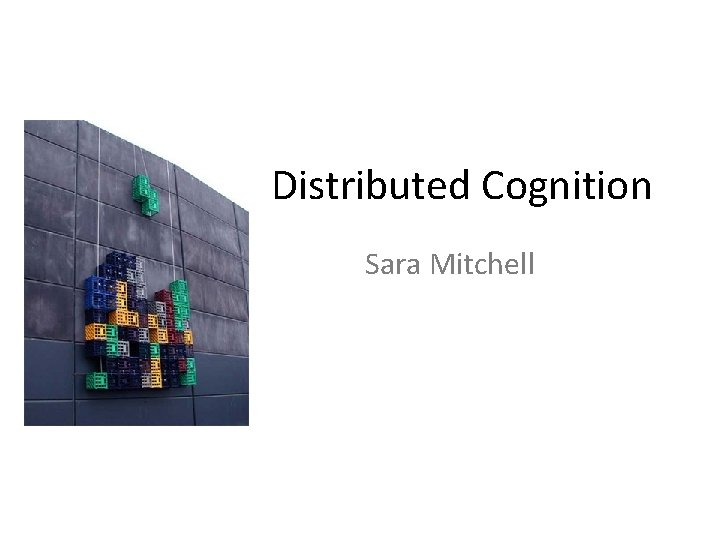 Distributed Cognition Sara Mitchell Statement Agree Disagree Microsoft