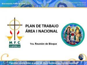 Equipo Coordinador Nacional 2019 2022 Movimiento Familiar Cristiano