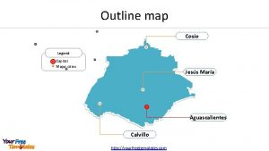 Outline map Coso Legend Capital Major cities Jess