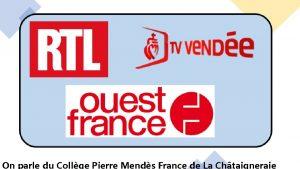 On parle du Collge Pierre Mends France de