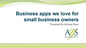 Business apps we love for small business owners