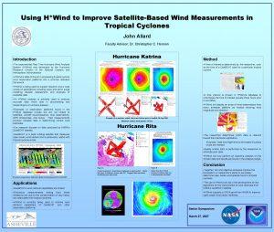 Using HWind to Improve SatelliteBased Wind Measurements in