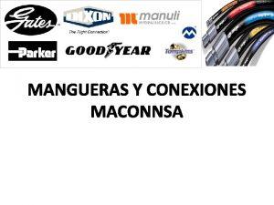 MANGUERAS Y CONEXIONES MACONNSA MACONNSA Somos una empresa