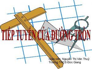 Gio vin Nguyn Th Vn Thu Trng THCS
