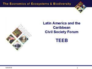 Latin America and the Caribbean Civil Society Forum
