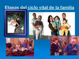 Etapas del ciclo vital de la familia Ciclo