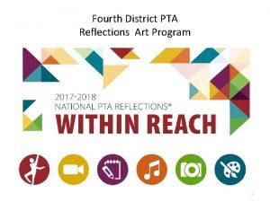 Fourth District PTA Reflections Art Program 1 PTA