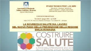 STUDIO TECNICO PROF L M NERI Associazione professionale