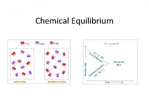 Chemical Equilibrium Reversible Reactions Most chemical reactions are