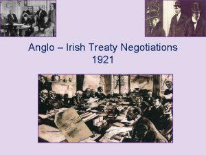Anglo Irish Treaty Negotiations 1921 Part I Preliminary