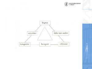 Figur 1 Grunnleggende utsagnstyper i to akser Deskriptive