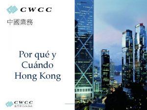 Por qu y Cundo Hong Kong Certified Public