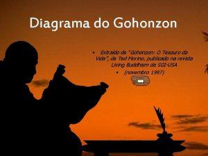 Diagrama do Gohonzon Extrado de Gohonzon O Tesouro