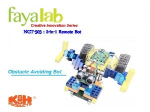 Creative Innovation Series NGT503 2 in1 Remote Bot