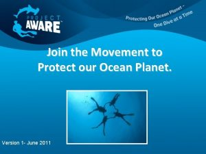 Join the Movement to Protect our Ocean Planet