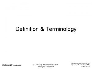 Definition Terminology BeirneSmith et al Mental Retardation Seventh