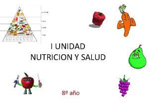 I UNIDAD NUTRICION Y SALUD 8 ao Comparar