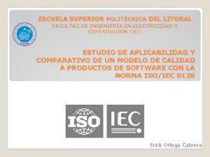 ESCUELA SUPERIOR POLITCNICA DEL LITORAL FACULTAD DE INGENIERA