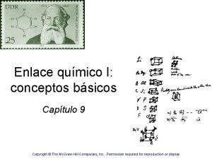 Enlace qumico I conceptos bsicos Captulo 9 Copyright