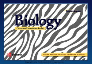 Genetics and Biotechnology Section 1 Applied Genetics Section