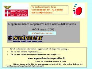 Via Gaudenzio Ferrari 1 Torino Tel 011 8613645