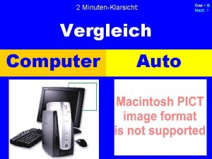 2 MinutenKlarsicht Vergleich Computer Auto ms p Next