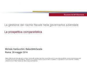 La gestione del rischio fiscale nella governance aziendale