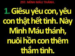 297 MNH MU THNH 1 Gisu yu con