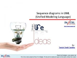Sequence diagrams in UML Unified Modeling Language http