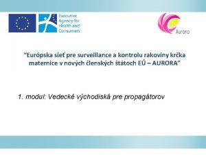 Eurpska sie pre surveillance a kontrolu rakoviny krka