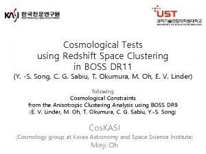 Cosmological Tests using Redshift Space Clustering in BOSS