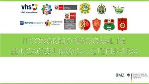 II CONGRESO NACIONAL DE EDUCACIN BSICA ALTERNATIVA CURRCULO