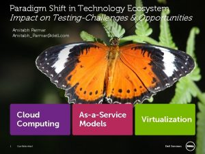 Paradigm Shift in Technology Ecosystem Impact on TestingChallenges