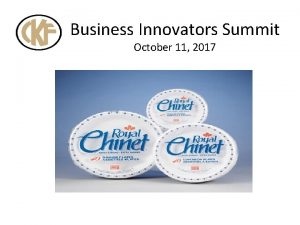 Business Innovators Summit October 11 2017 Sustainability PLANET
